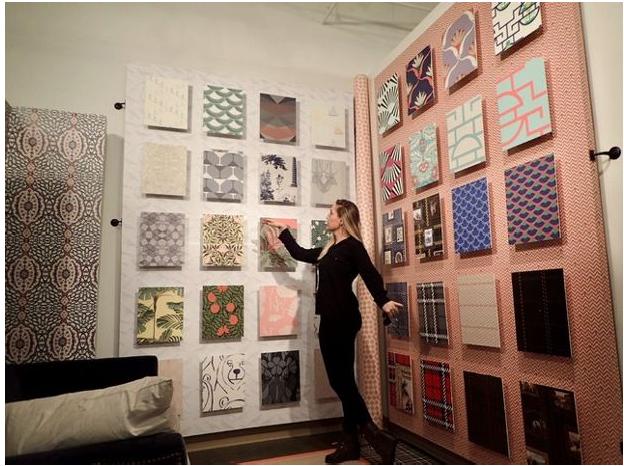 Pasztell árnalatú textilek kifinomult, mégis játékos stílusról árulkodnak