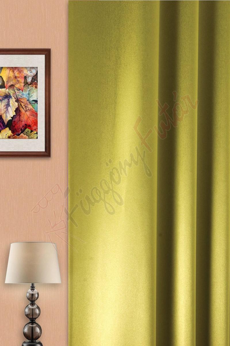 Hermes - Kiwiszínű szaténfényű erezetmintás blackout függöny ... 72bd7fb733